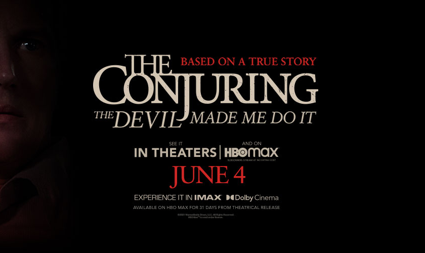Win Tickets For Two To See 'The Conjuring: The Devil Made Me Do It'