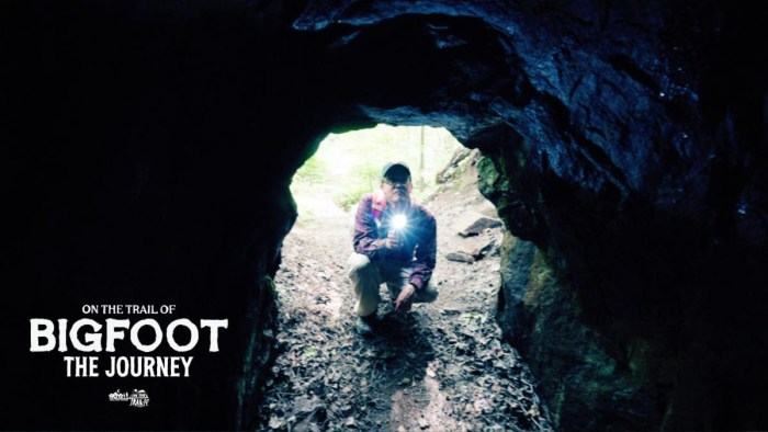 On the Trail of Bigfoot The Journey (2)