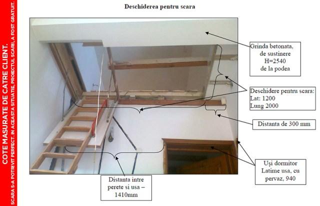 pret scari interioare din lemn cu vang si trepte economice proiect scari