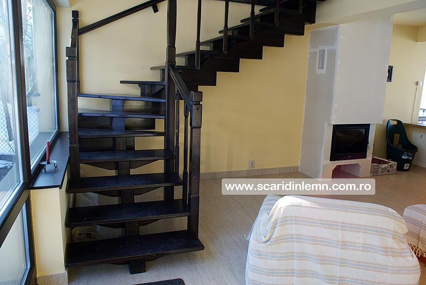 cara interioara de lemn masiv modulara mana curenta balustrii din lemn preturi calitate