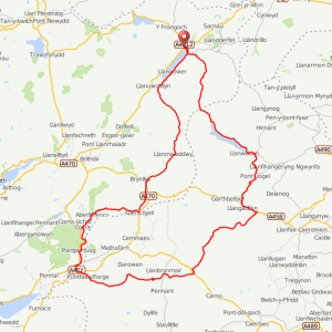 Wild Wales Challenge 2012 – Download the Route