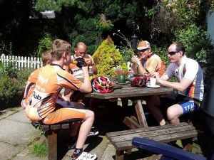 Joining a cycling club – reflections one year later.