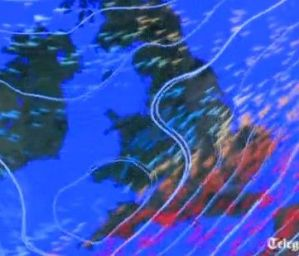 MET office weather warning for Strava users
