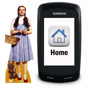 How to set your Home location on a Garmin Edge 800