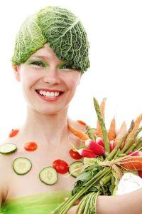 Crazy veg lady