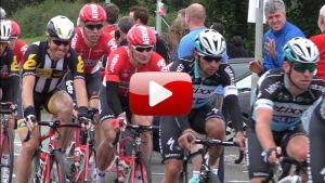 Slow-mo Video: Tour of Britain Stage 1 (@Sprint stage 2, Pentre Llanrhaeadr)