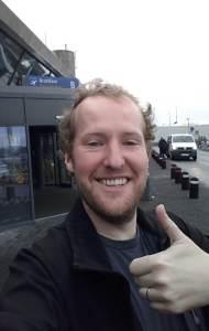 Gary thumbs up