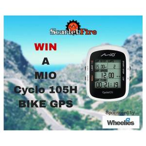 Win a Mio bike GPS computer, courtesy of Wheelies