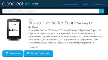 Strava Live Suffer Score