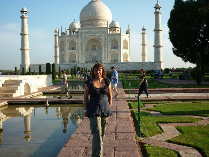 Lace hankies and floodwater – finding myself in India