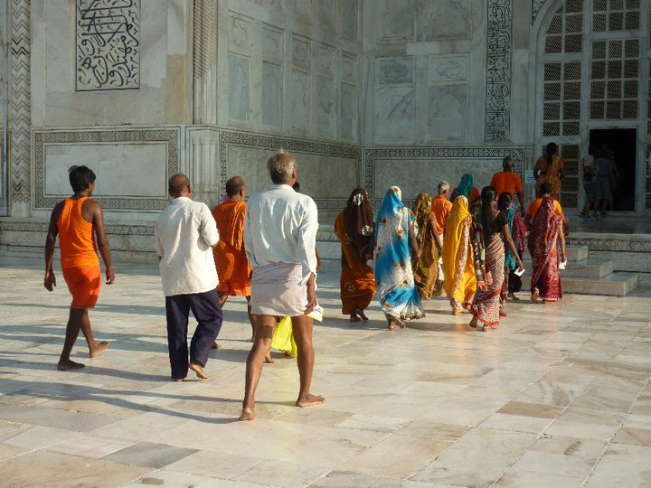 The Taj Mahal - that booking error possibly changed my life - Finding myself in India