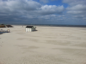 The beach at Le Touquet