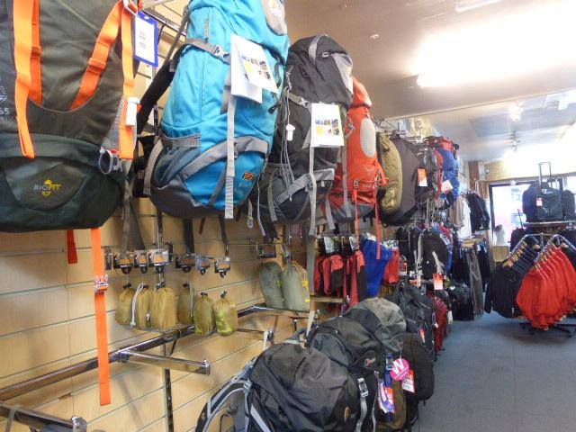 Nomad Travel & Osprey Farpoint 55