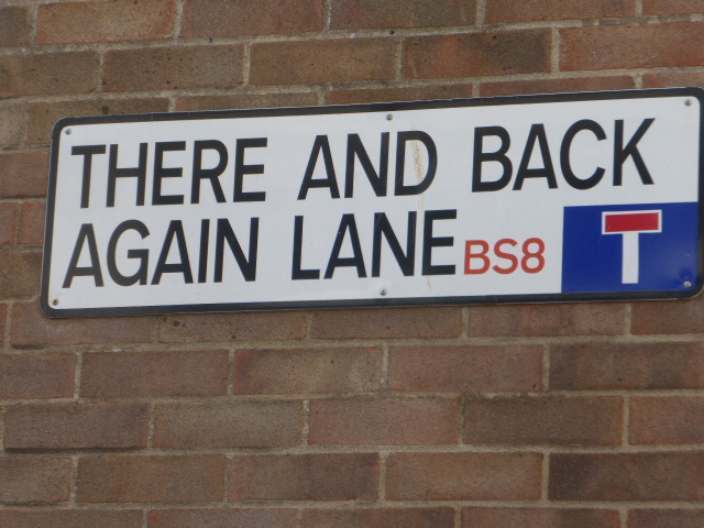 photo walk through Bristol: great street signage