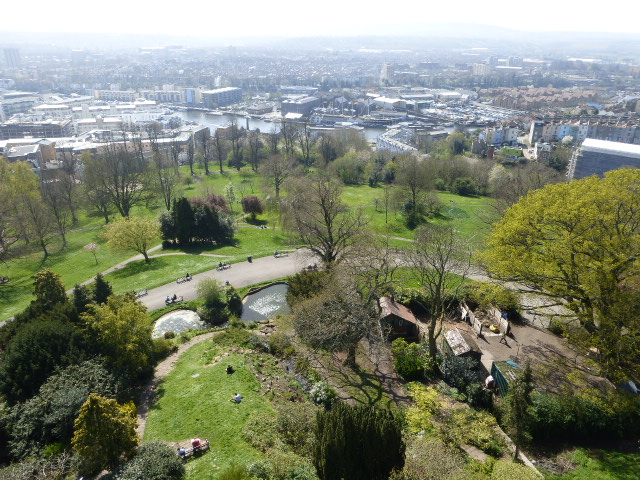 photo walk through Bristol: view from the top