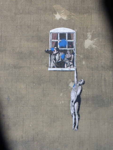 photo walk through Bristol: amazing street art