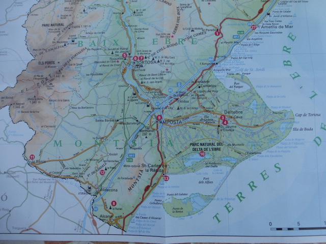 Exploring the Ebro Delta in Catalunya