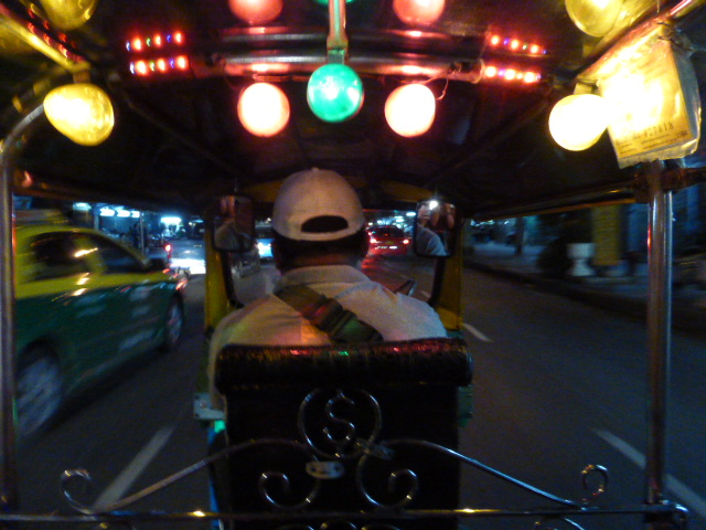 tuk tuk tour in Bangkok