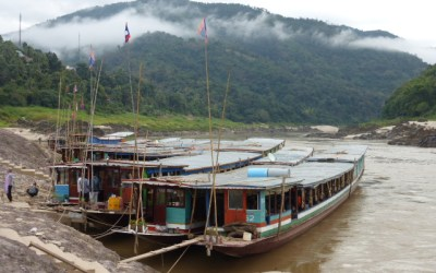The slow boat from Thailand to Laos