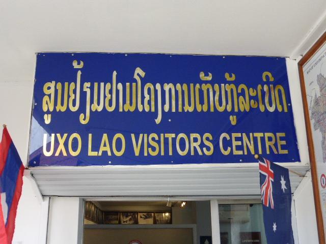 UXO Lao visitor's centre