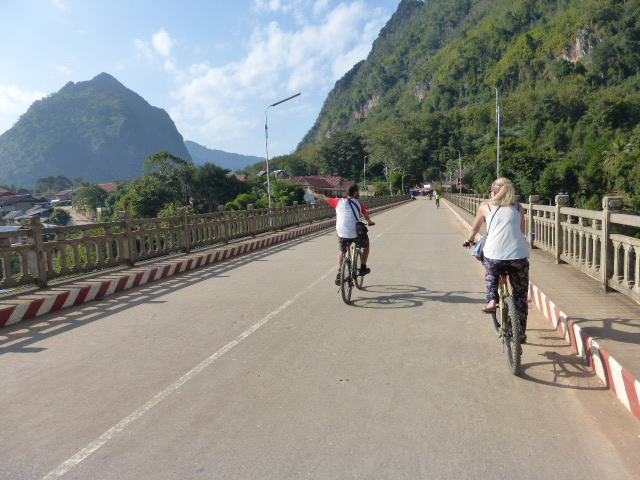 The bridge at Nong Khiaw