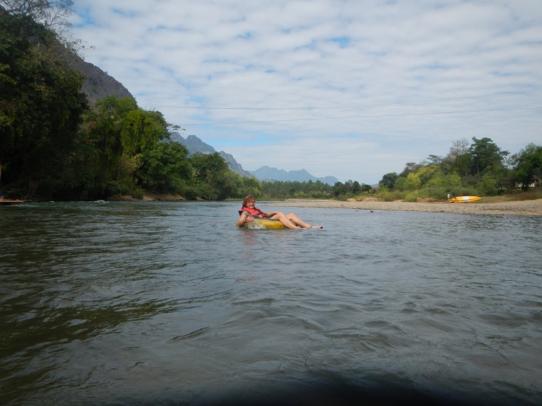 Travel in Laos; Vang Vieng