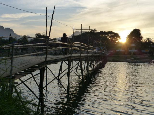 Travel in Laos: Vang Vieng, Vientiane & Pakse