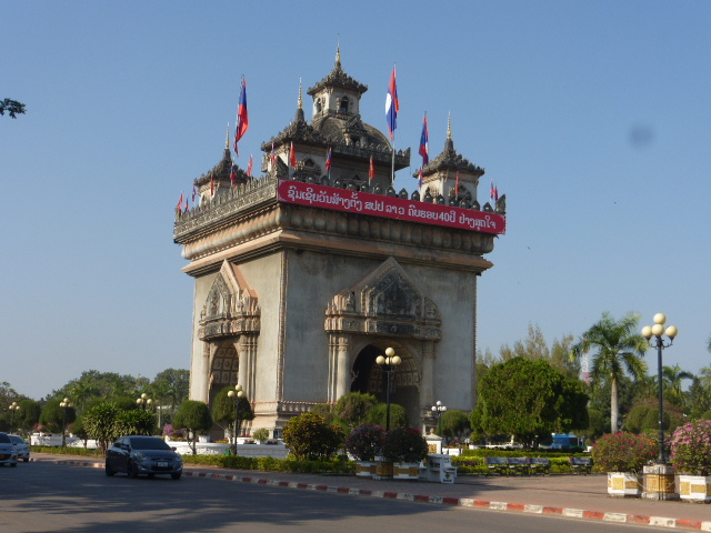 travel in Laos; Vientiane