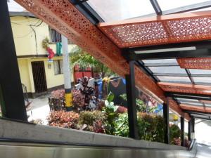Escaleras electricas: fun things to do in Medellin