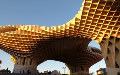Exploring Seville on our road trip