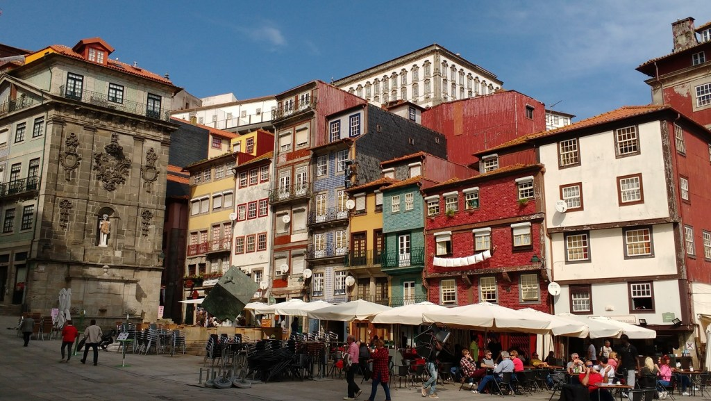 the waterfront in Porto