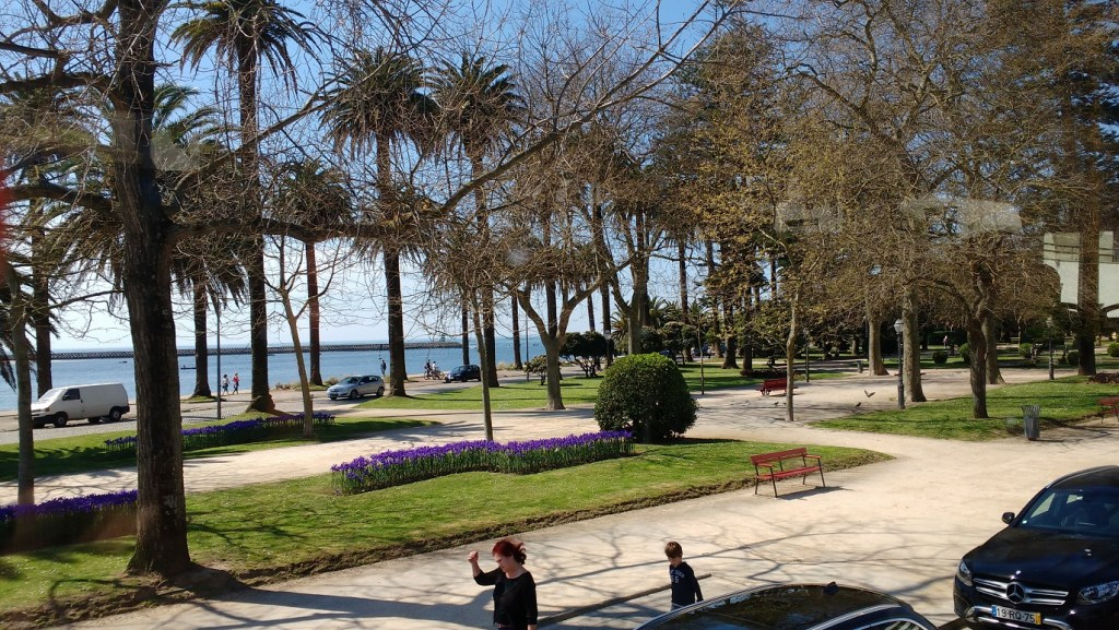 the park on the prom - 9 highlights of Porto