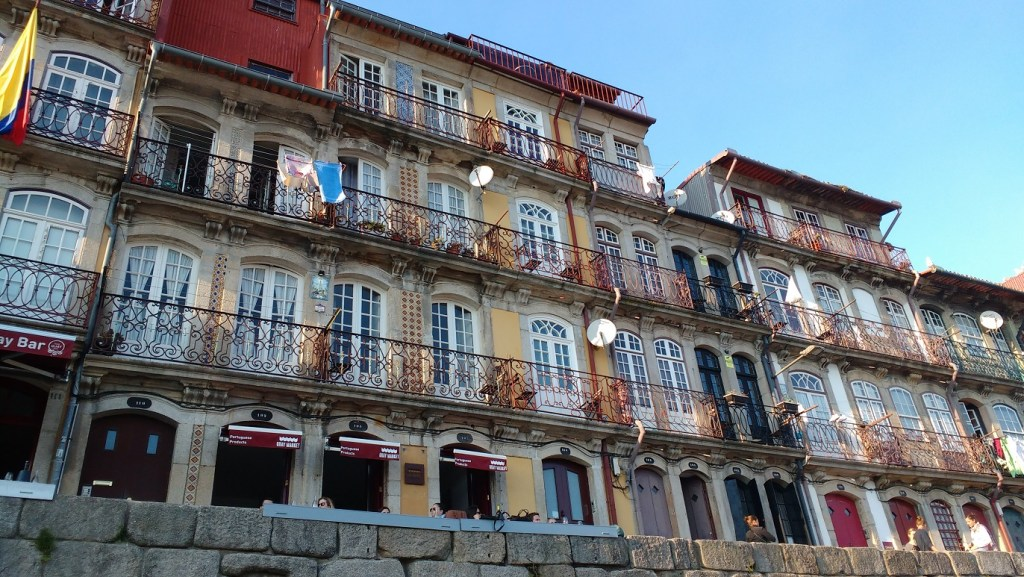 a highlight of Porto: the UNESCO listed buildings