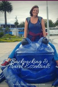 Backpacking and travel essentials