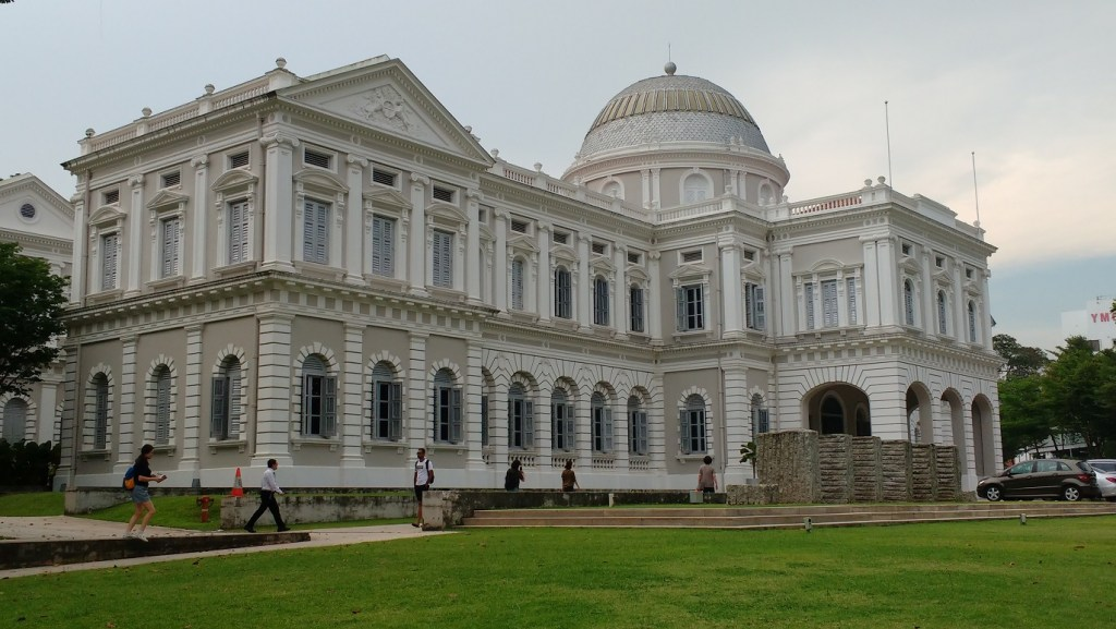 The imposing National Museum of Singapore