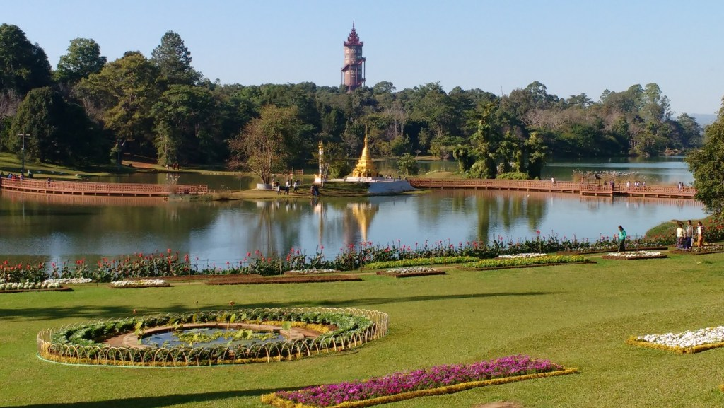 The Botanical Gardens at Pyin Oo Lwin