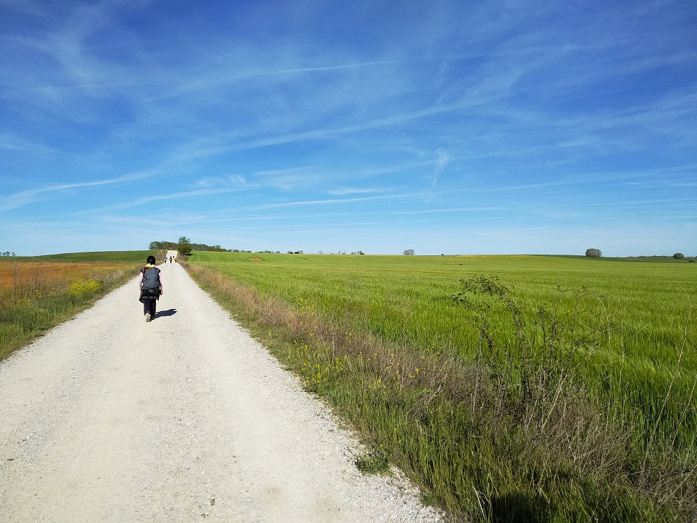 walking the Camino de Santiago alone
