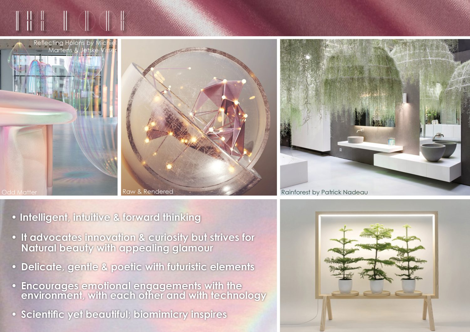 Visionary Consumer and Design Trend for interiors and products