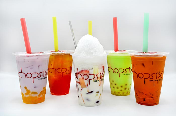 Five Bubble Teas