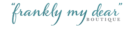 logo for the Frankly My Dear Boutique