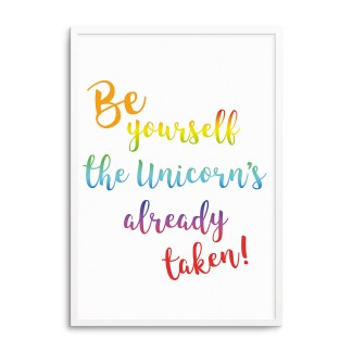 Be yourself unicorn