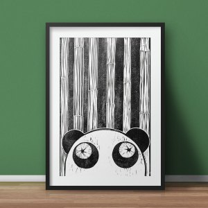 limited edition panda prints