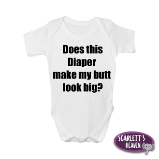 Baby Grow - Does This Diaper Short Sleeve