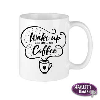 Printed Mugs - Wake Up