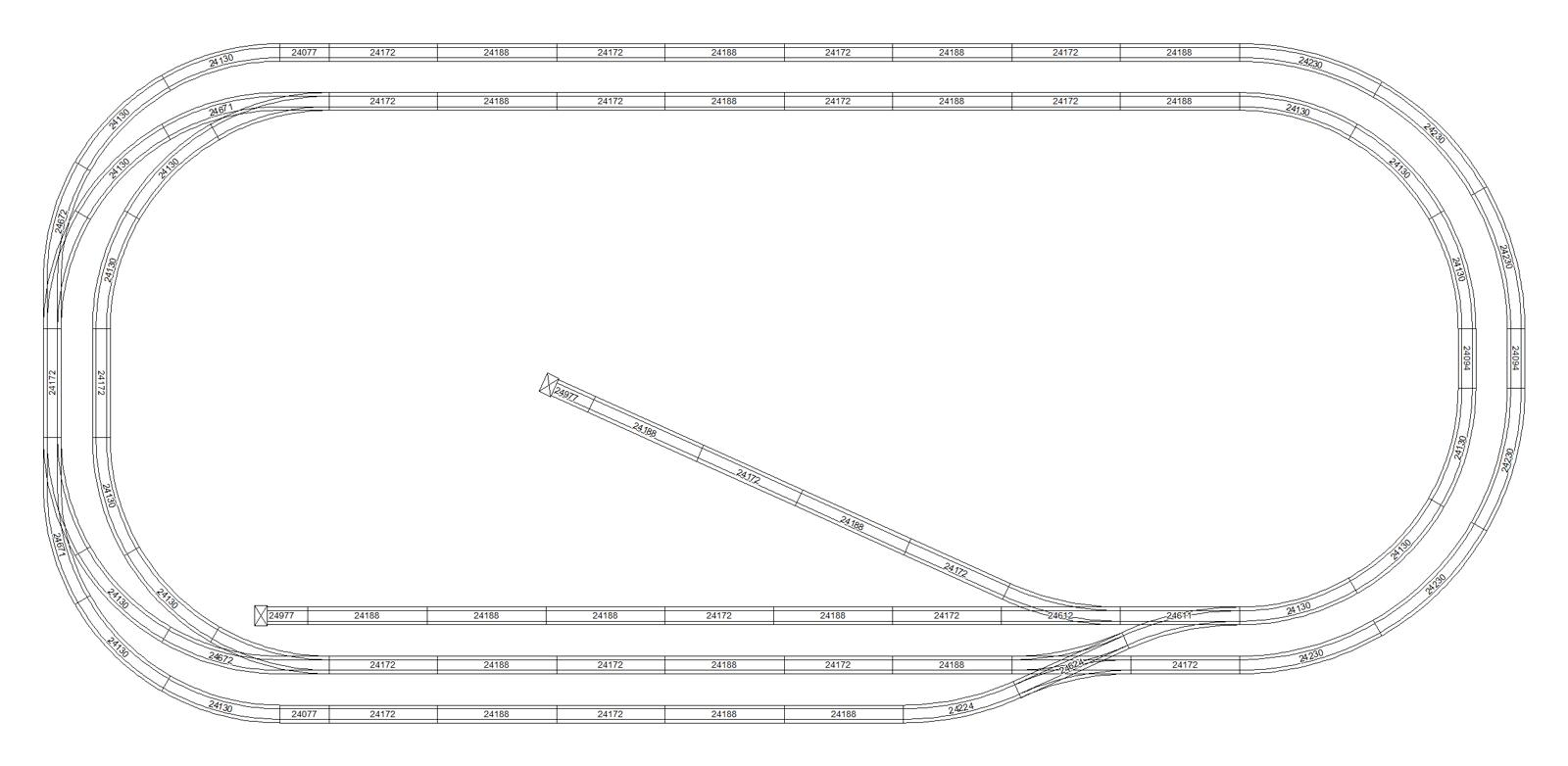 Examples Of Marklin C Track Layout Plans Created In Scarm