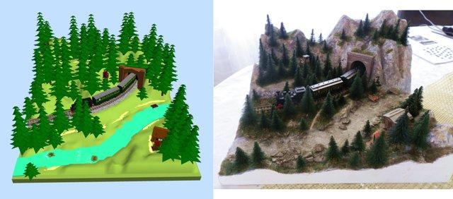 Small N Scale Diorama