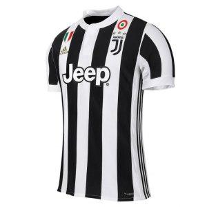 adidas - Juventus Maglia Ufficiale 2017-18 + Scudetto + Coppa Italia