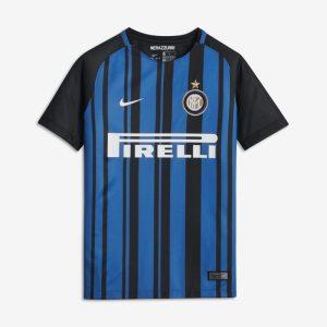 Maglia da calcio 2017/18 FC Internazionale Stadium Home - Ragazzi - Nero