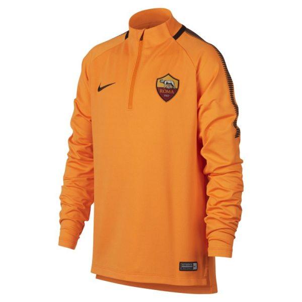 Maglia da calcio A.S. Roma Dri-FIT Squad Drill - Ragazzi - Arancione
