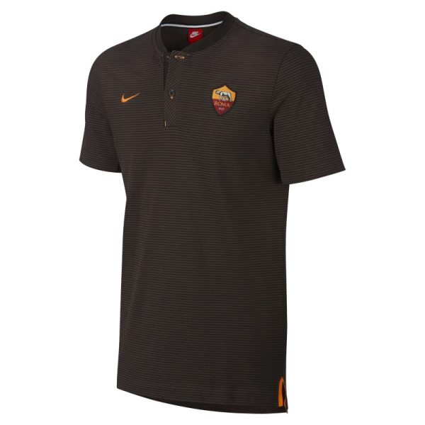 Polo A.S. Roma Modern Authentic Grand Slam - Uomo - Marrone